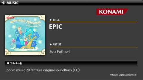 EPIC pop'n music 20 fantasia O.S