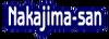 Nakajima-san Name Banner