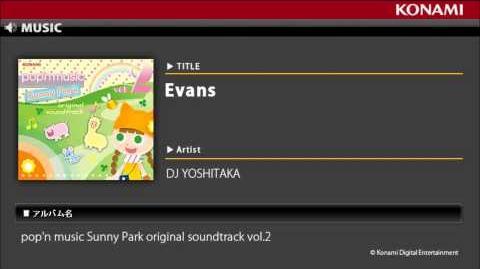 Evans pop'n music Sunny Park original soundtrack vol