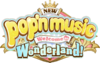 NEW pop'n music Wonderland logo