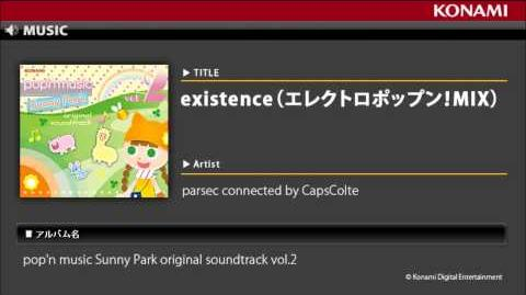 Existence(エレクトロポップン!MIX) pop'n music Sunny Park original soundtrack vol