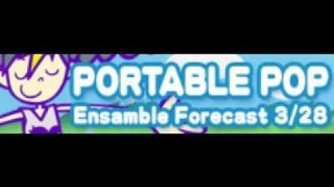 PORTABLE POP 「Ensemble Forecast 3 28」
