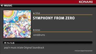SYMPHONY FROM ZERO pop'n music éclale Original Soundtrack