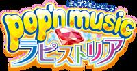 Pop'n Music Lapistoria logo