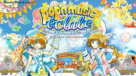 Pop'n music éclale title