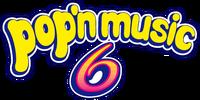 Pop'n Music 6 logo
