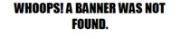 Unfound banner