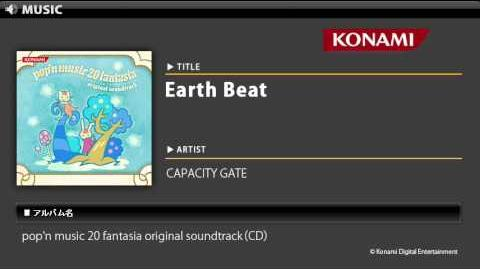 Earth Beat pop'n music 20 fantasia O.S