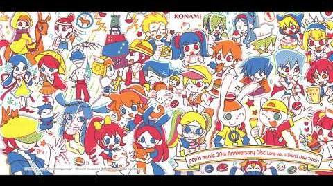 Pop'n music 20th Anniversary「♥Love²シュガ→♥ (かめりあ&ななひら's Over-Sweet-Dempa ♥Love²シュガ→♥な恋愛教室 Remix)」