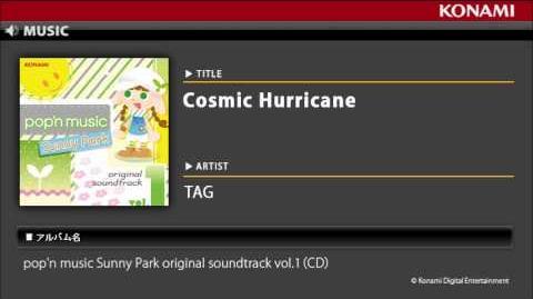 Cosmic Hurricane pop'n music Sunny Park original soundtrack vol
