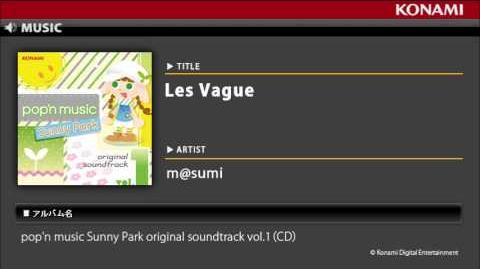 Les Vague pop'n music Sunny Park original soundtrack vol