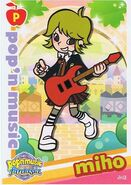Miho Pop'n Card