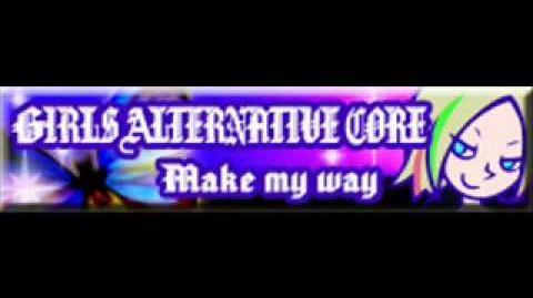 Make my way