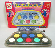 Pop'n Music DC Controller