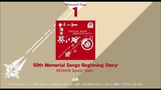 【50th Memorial】 50th Memorial Songs -Beginning Story-