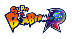 Super bomberman r logo