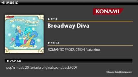 Broadway Diva pop'n music 20 fantasia O.S