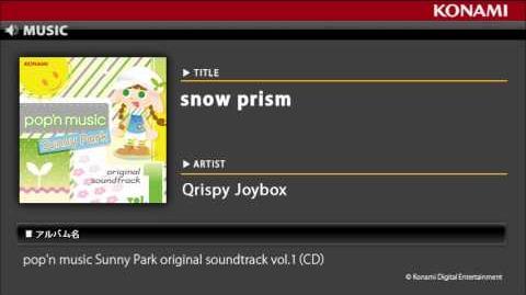 Snow prism pop'n music Sunny Park original soundtrack vol