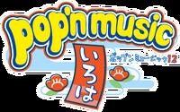 Pop'n Music 12 Iroha logo