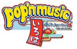 Pop'n Music 12 Iroha logo