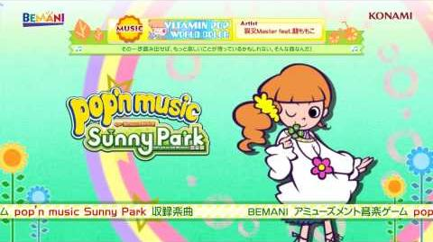 【pop'n music Sunny Park】WORLD COLOR