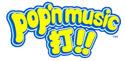 Pop'n Music DA!! Logo