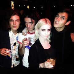 Børns with Sinclair and Emily Wilson.