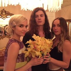 Børns with Poppy and Zella Day.