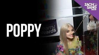 Poppy Is Inside a Box at the 2017 Streamy Awards