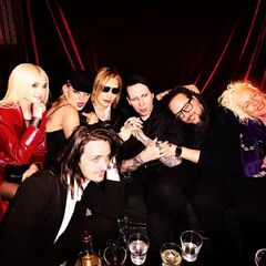 Manson with Sinclair and Poppy.