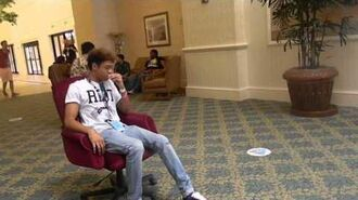 Mazzi Maz, Sam Pepper and Poppy Chair Race at Playlist Live 2013