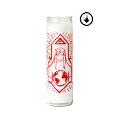 Poppy - Prayer Candle + Digital Download ($8.00 USD)