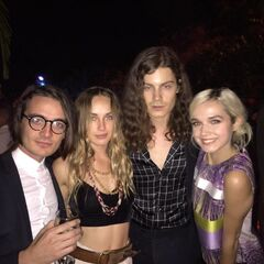 Børns with Poppy, Zella Day and Titanic.