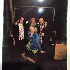 Cervini with Poppy, Sinclair, John Feldmann and <a href=