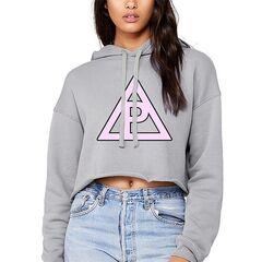 Triangle Crop Hoodie ($45.00 USD)