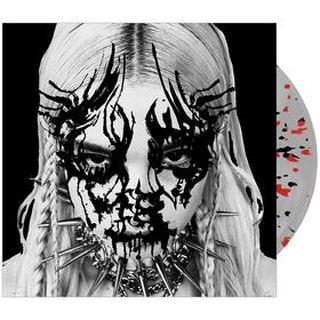 I Disagree vinyl with Black & Red Splatter