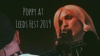 Poppy LIVE Leeds Festival
