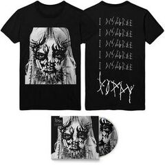 Poppy - 'I Disagree' Album Artwork Tee & CD Bundle Pre-Order ($30.00 USD)