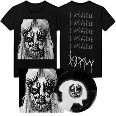 Poppy - 'I Disagree' Album Artwork Tee & Vinyl Bundle Pre-Order ($40.00 USD)