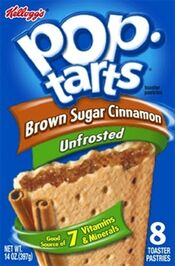 Unfrosted Brown Sugar Cinnamon