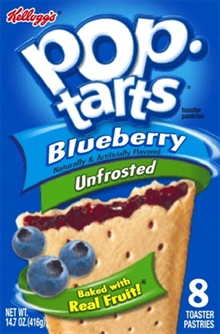 Unfrosted Blueberry