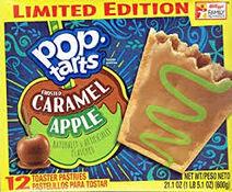 Caramel Apple Pop Tart Box