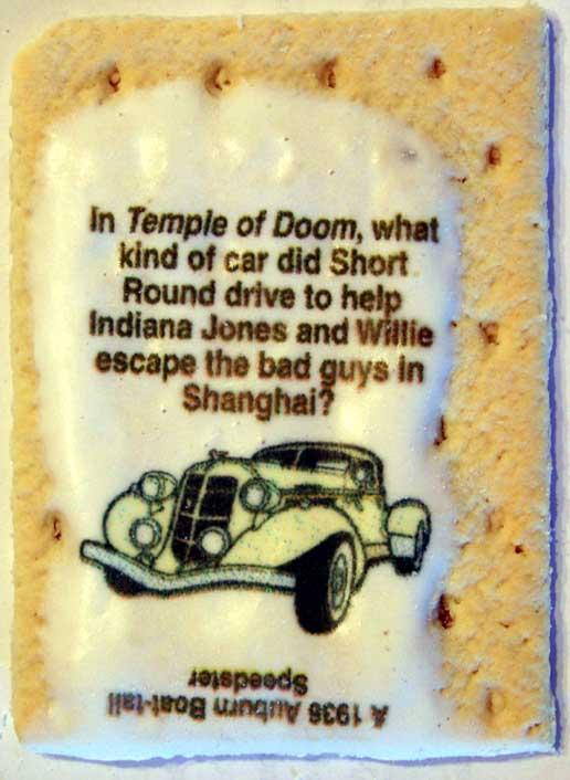 indiana jones brown sugar cinnamon pop tarts wiki