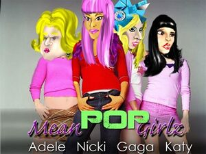 Mean Pop Girls Logo