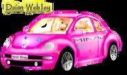 Nicki Minaj Barbie Dream Car