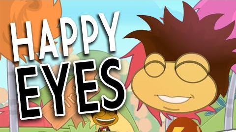 Poptropica Glitches & Cheats Happy Eyes
