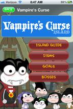 Vampire's Curse Island App Walktrough