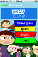 Mom Island App Walkthrough
