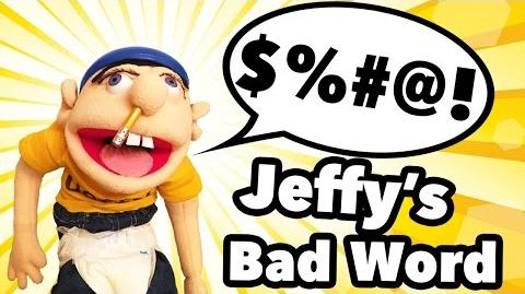 "(WARNING BAD WORDS) SML Movie Jeffy says the ""F"" word"