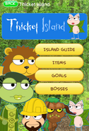 Thicket Island App Walkthrough
